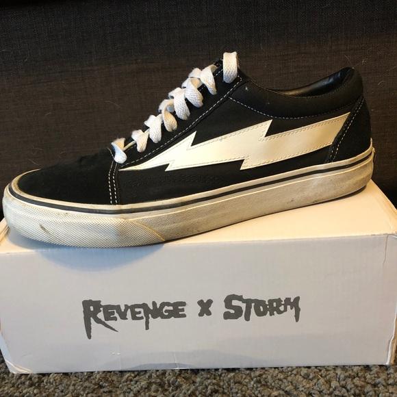 """129c268c8c1 Revenge x Storm OG """"Black"""" Size 10 Flawed"""